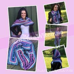 Catania garnpack (15 nystan) till romantisk sjal/halsduk med volang
