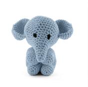Elefanten Moo - powder blue, maxigurumi