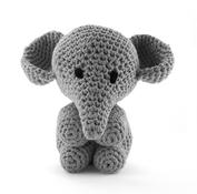 Elefanten Moo - stone grey, maxigurumi