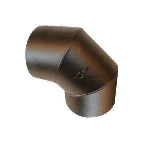 90° böj med sotlucka och 50mm isolering