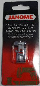 Janome Band/paljettfot