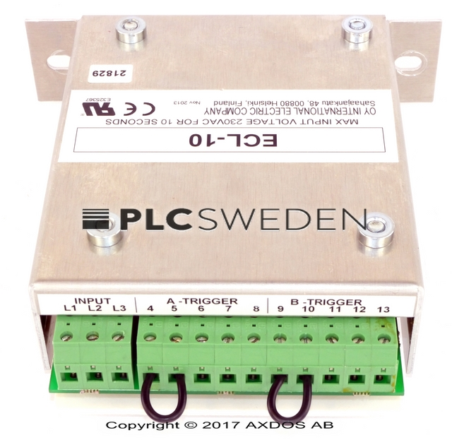 Oy International Electric Company Ecl 10 Ecl10oyinternational Axdos Ab Plcsweden Automation Spare Parts