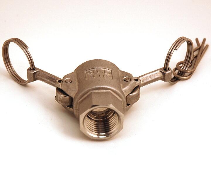Humlegårdens Ekolager - camlock typ D (hona - 1 2