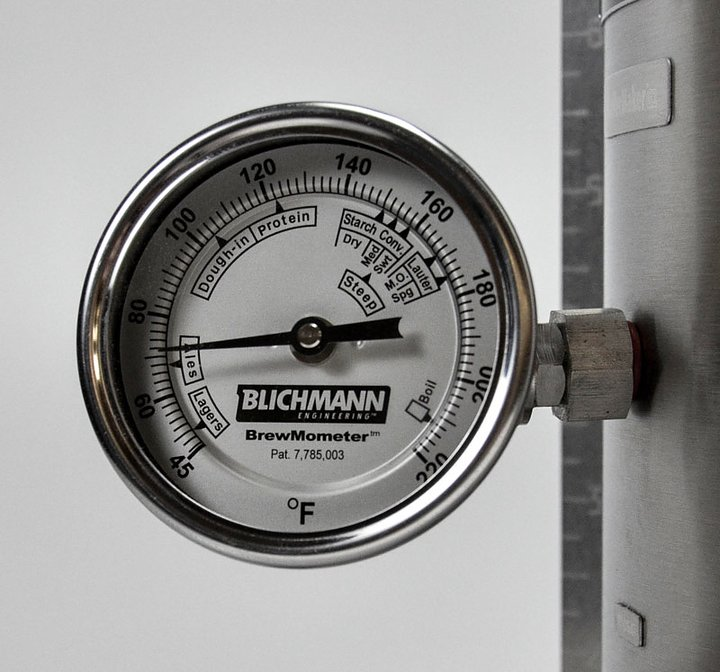 Humlegårdens Ekolager - BrewMometer ställbar m. genomföring 78a363f54e997