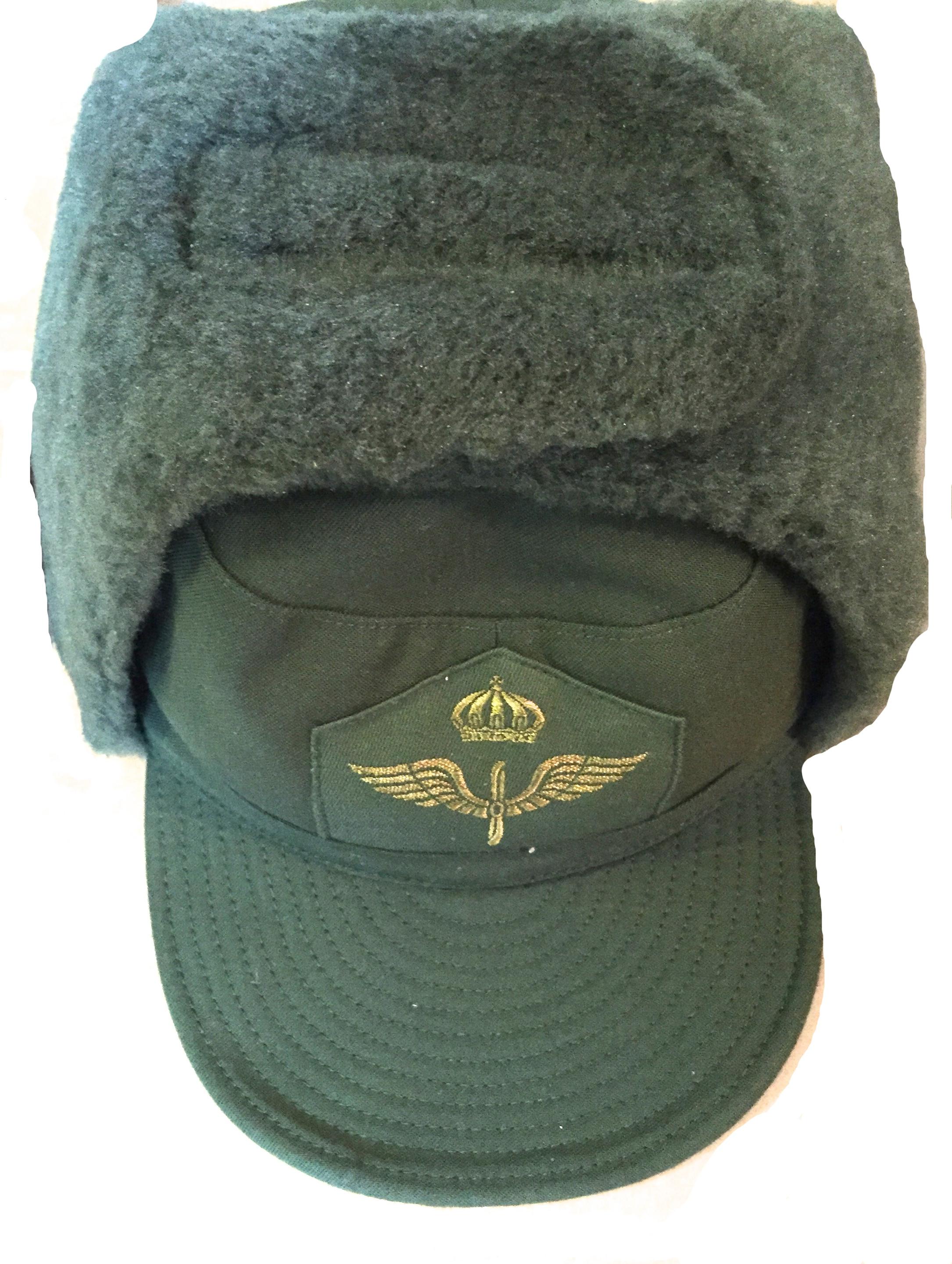 Swedish army winter hat m 59 FV with velcro - Beredskapsboden 2b314a17ded