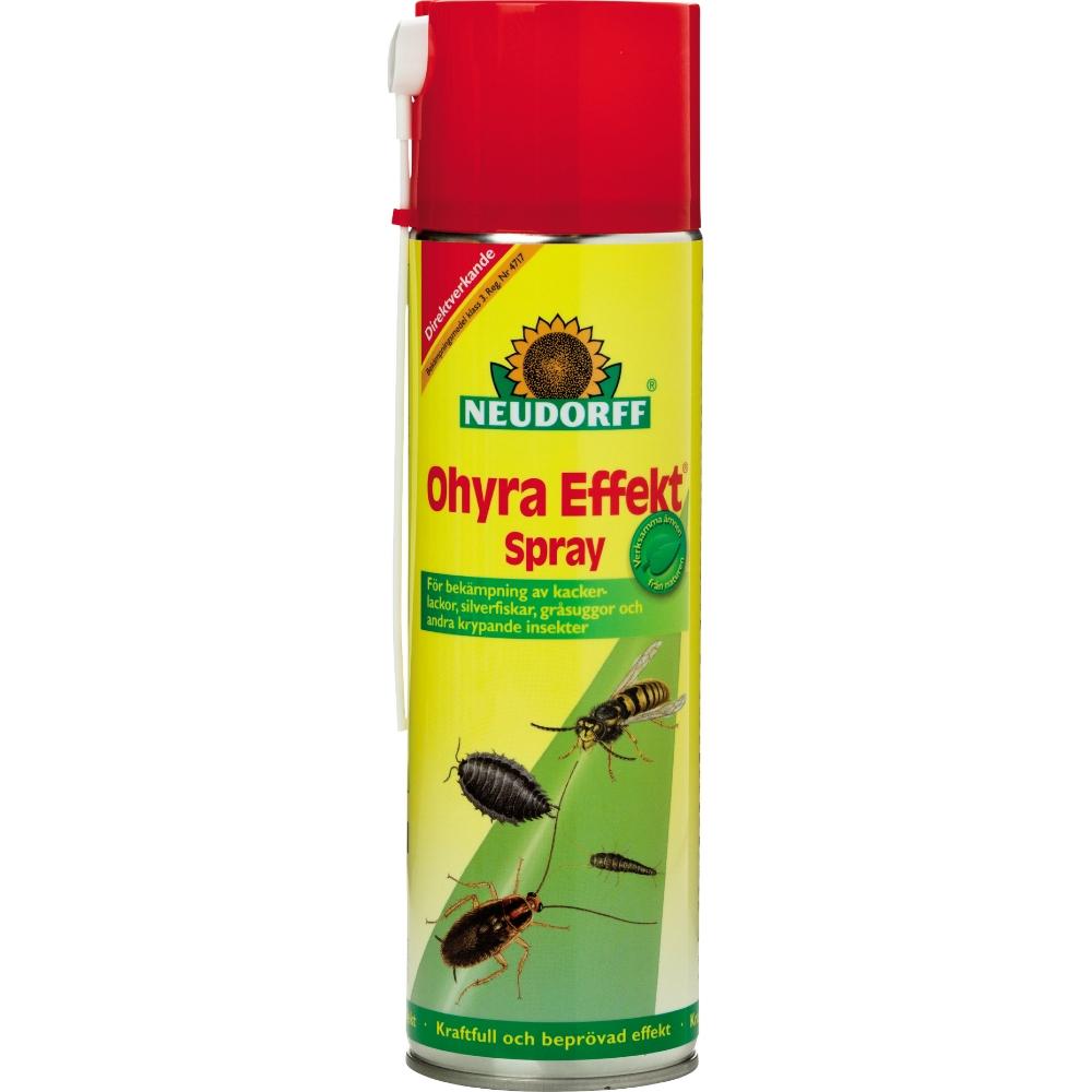spray mot ohyra