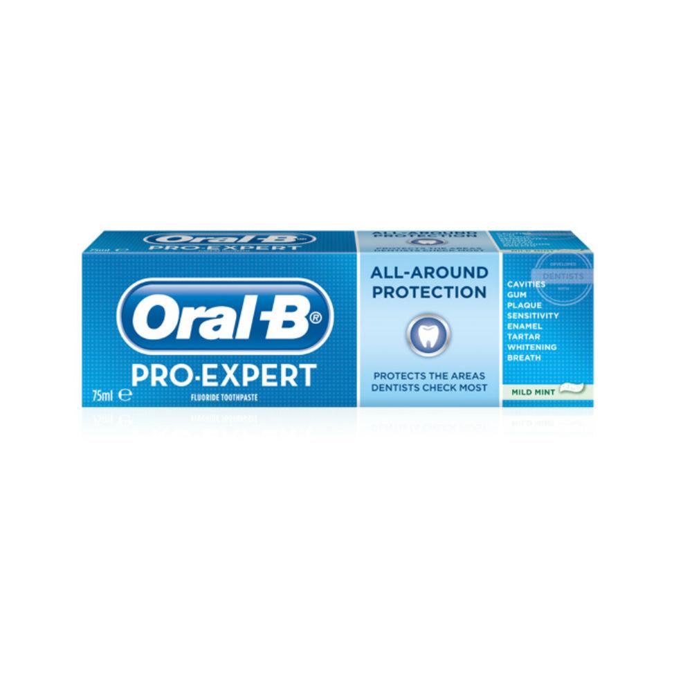 oral b nya tandkräm