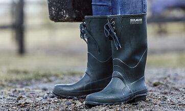 d92c98e6e04 Gummistövlar från Viking m.fl.online som klarar regn, snöslask och ...
