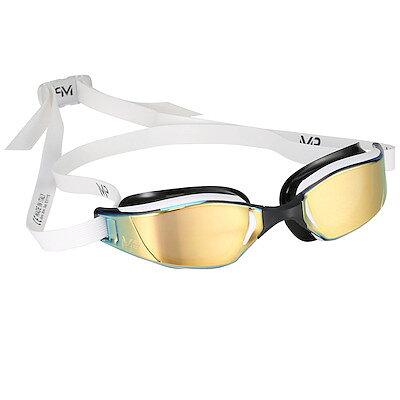cf5c6728db MP Michael Phelps XCEED Titanium Gold goggles