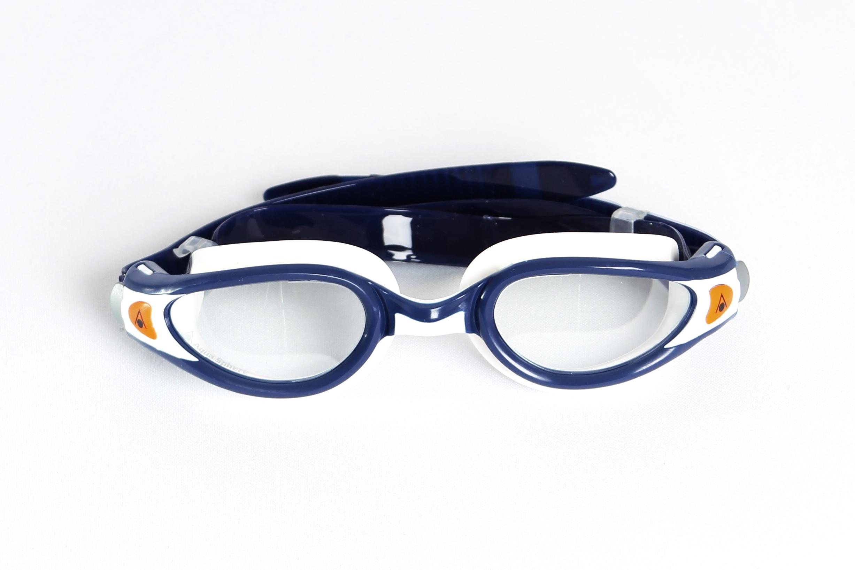 0214ef15e4f9 Wolff-Wear - Aqua Sphere Kaiman Exo Blue White Clear Lens Unisex