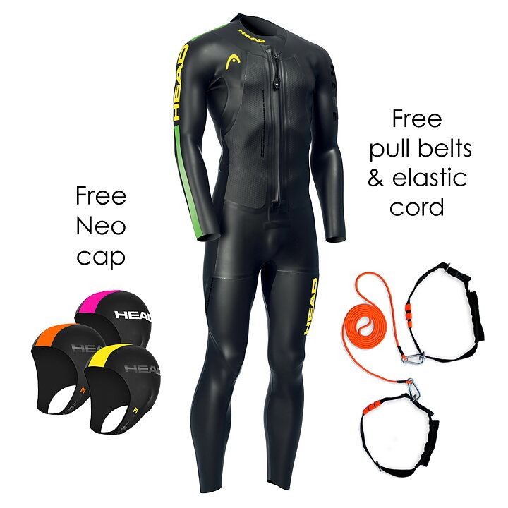 Wolff-Wear - Nailmarked (repaired) Head Swim Run Race 2018 Mens MLO f5e736d503846