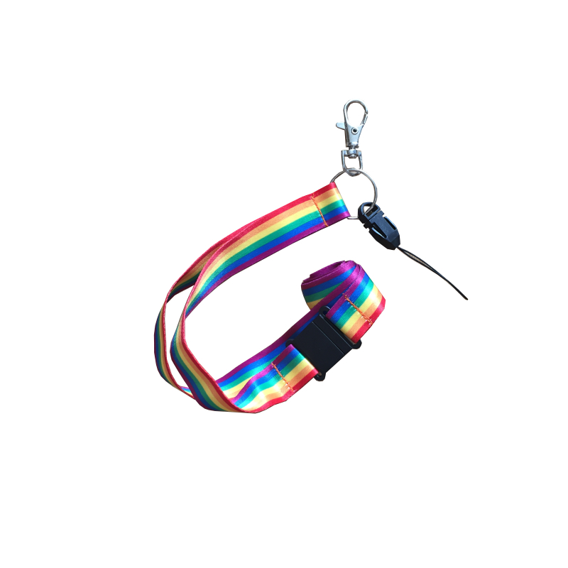 Pridefärgat nyckelband - HappyPride 5c003d6068de2