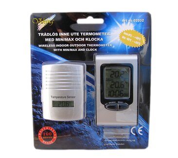 Termometer Digital Trådlös - Termometerbutiken fae3661f84136
