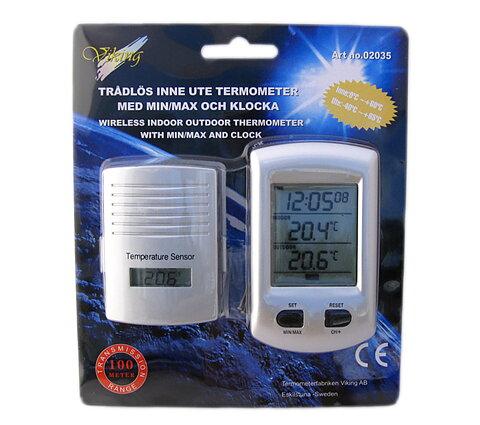 Digital Termometer TRÅDLÖS - Termometerbutiken