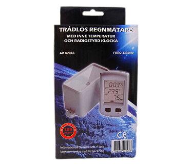 Regnmätare Digital Trådlös - Termometerbutiken 8d8841513cad0