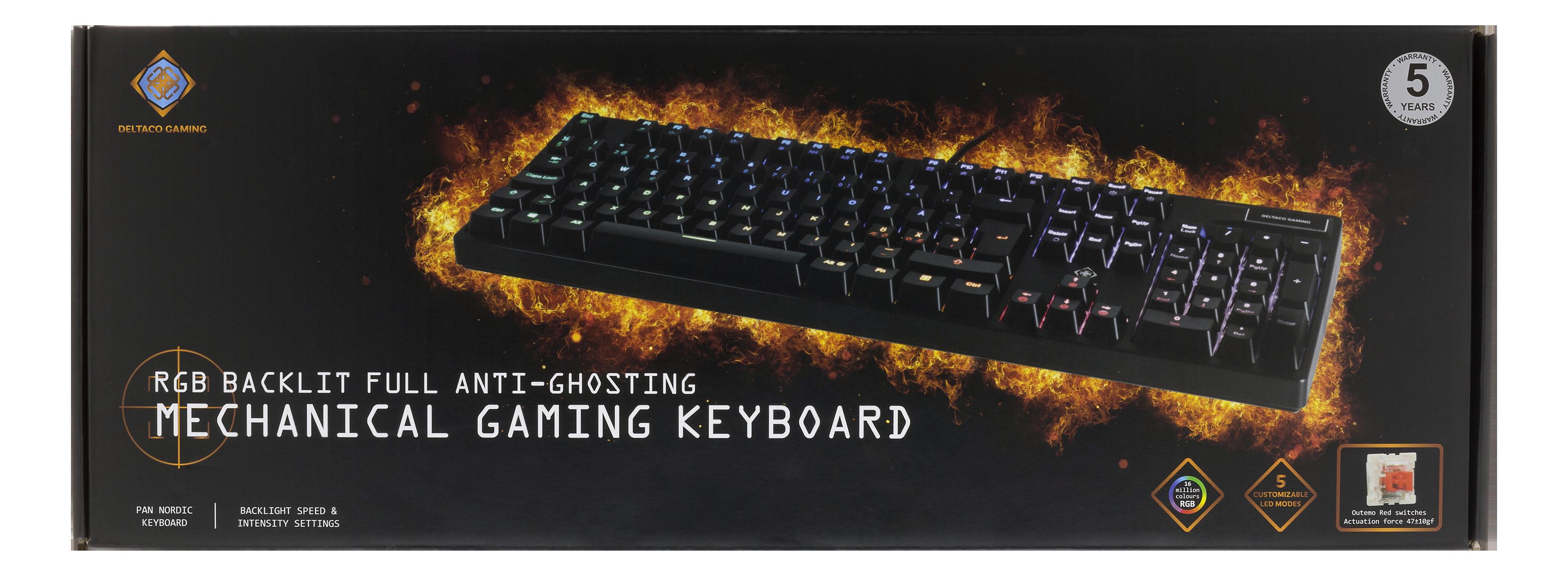 DiscAtOnce - Deltaco Gaming mekaniskt tangentbord eb25c40b2d4f6