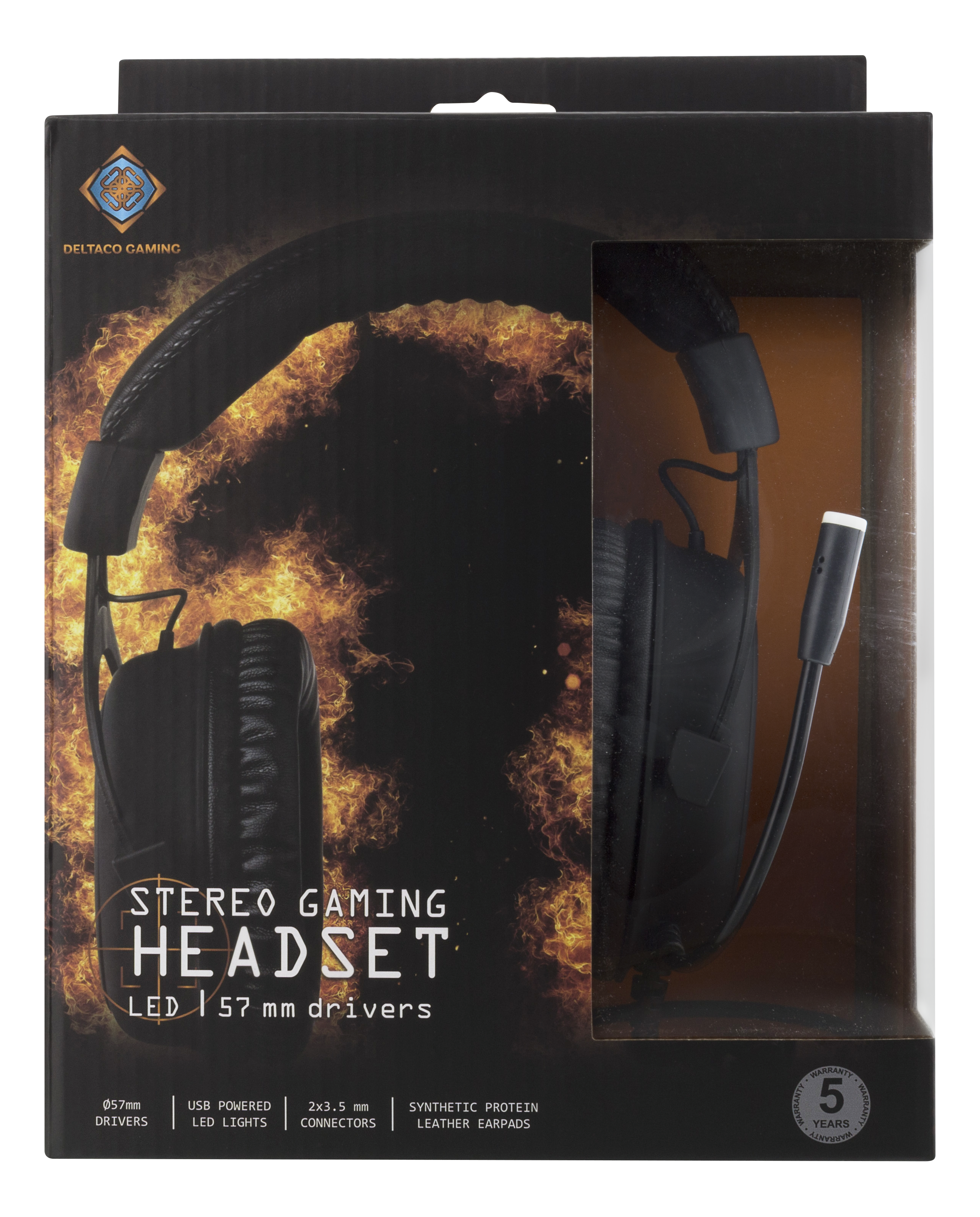 DiscAtOnce - Deltaco Gaming Stereo Headset 3c9066a11bed0