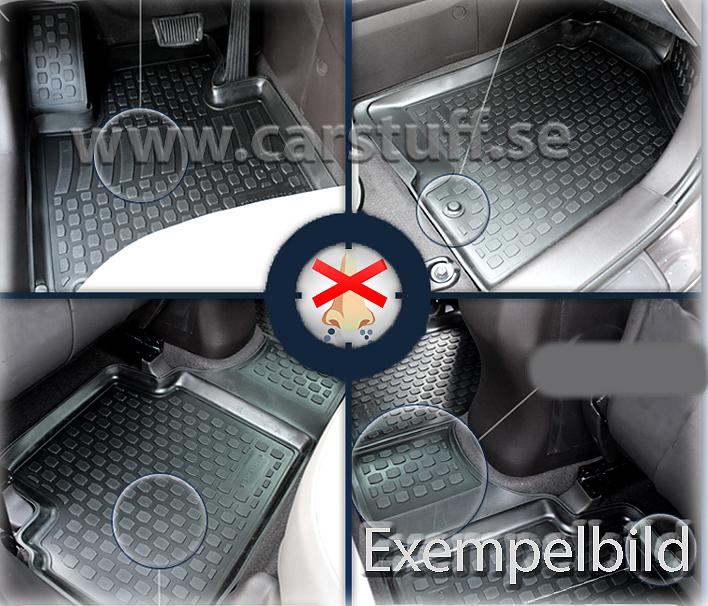 Bilmatta Bmw X6 E71 Gummimattor Carstuff Se