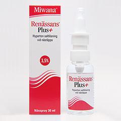 renässans plus nässpray gravid