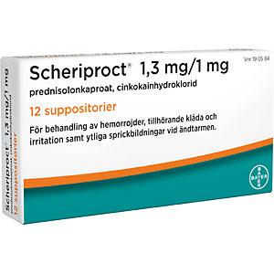 hemorrojder behandling receptfritt