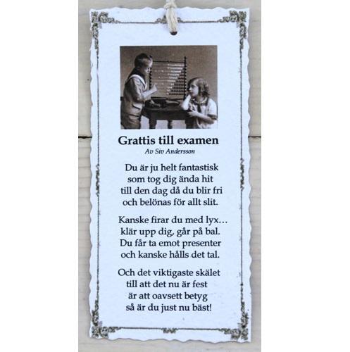 grattis examen dikt Josefina Smycke Design   Diktkort   Grattis till examen grattis examen dikt