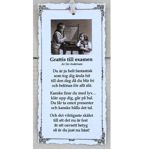 grattis till studenten dikt Josefina Smycke Design   Diktkort   Grattis till examen grattis till studenten dikt