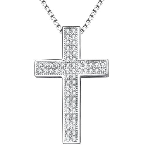 kors halsband silver