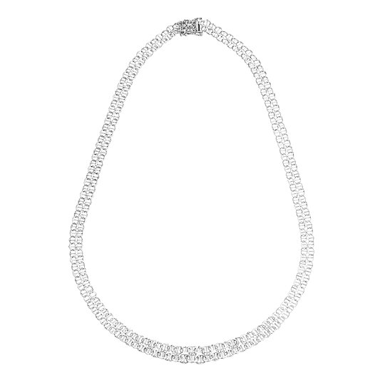 X-länk halsband i äkta silver - Guldklippet.se 8c99bbb3f3836