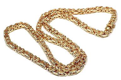 Kejsarlänk 18k guld 55cm 348b906149b2a