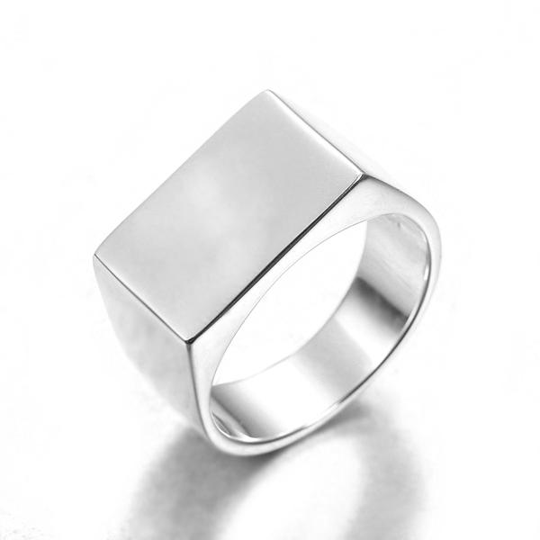 billiga äkta silverringar