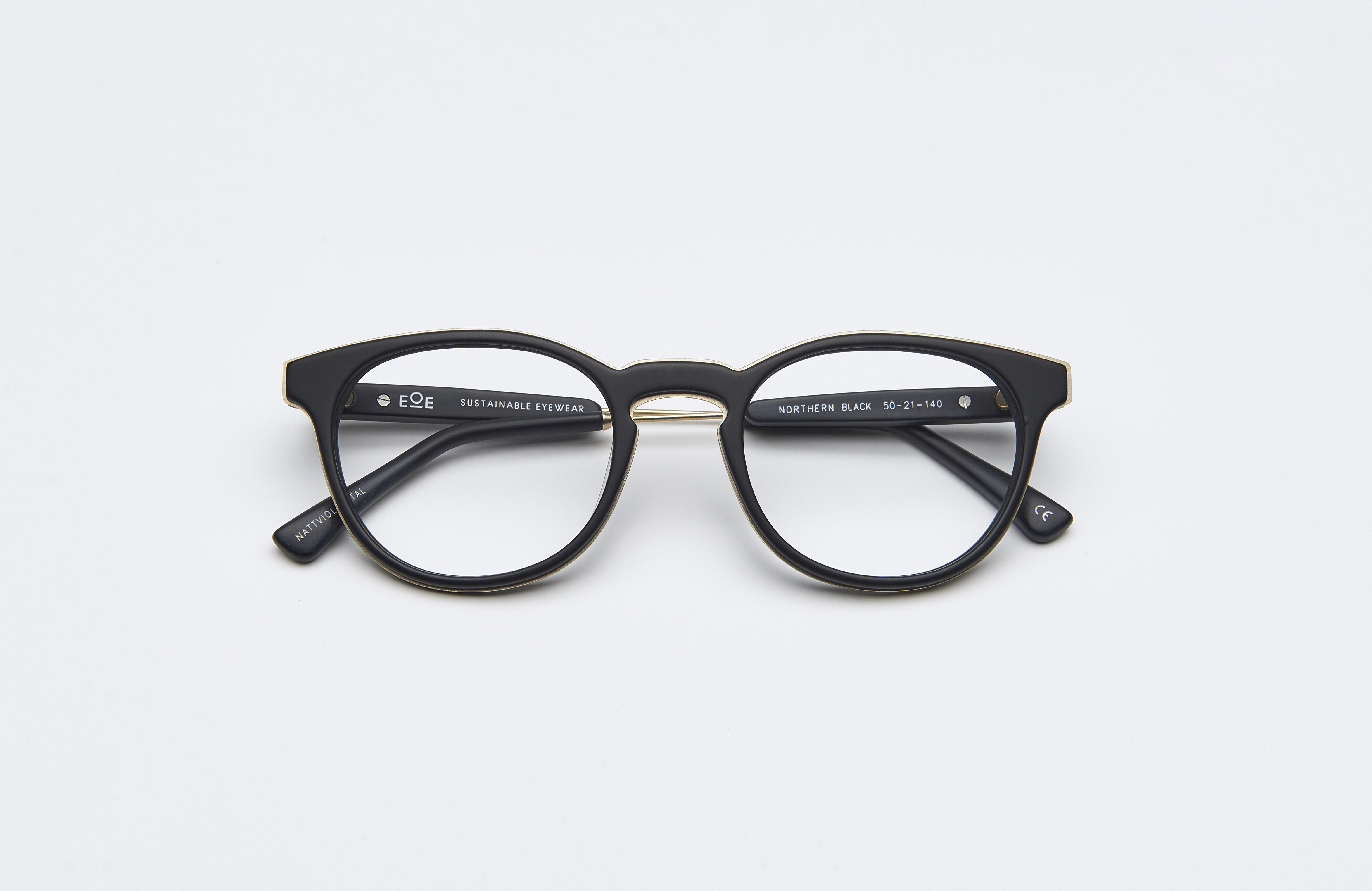 dcf74197bc4c NATTVIOL METAL 50 Northern Black Matte - EOE Eyewear