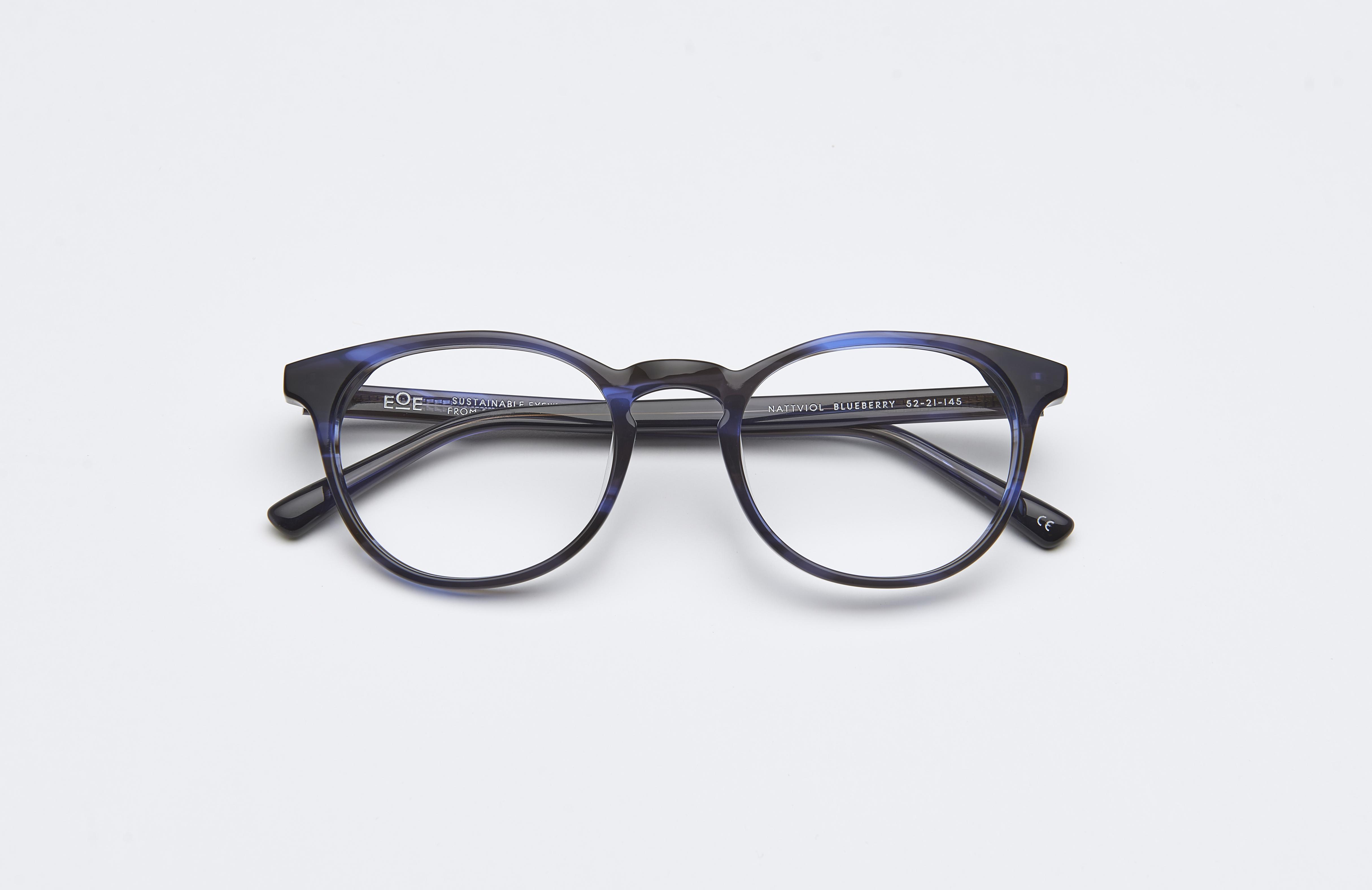 Nattviol 52 Blueberry - EOE Eyewear efa9a7d0a4f3e
