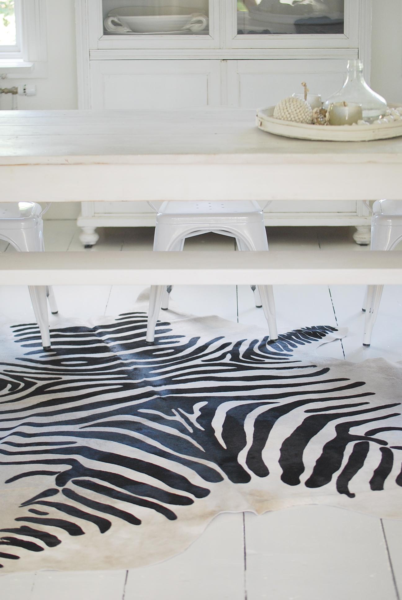 zebra matta fejk