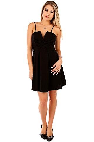 Svart kort klänning - Toplady 2277010150836
