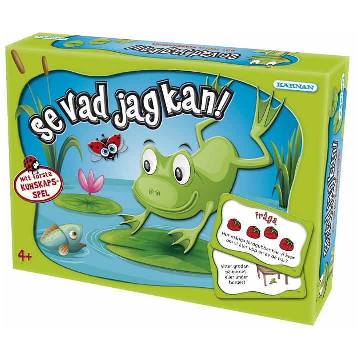 Sällskapsspel och barnspel - Se vad jag kan! 06382ca7d0b64