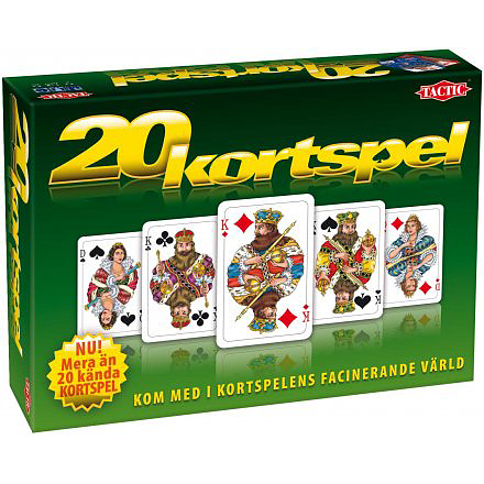 Kortspel och sällskapsspel - 20 Kortspel 1af355e2c4b69