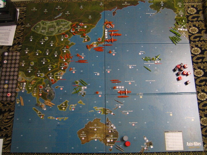 axis and allies pacific 1940 second edition japan strategy