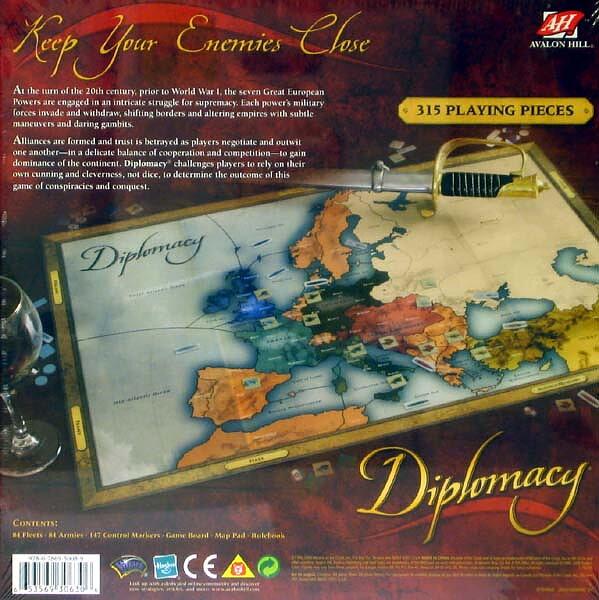 Strategispel och sällskapsspel - Diplomacy 782420445fb80