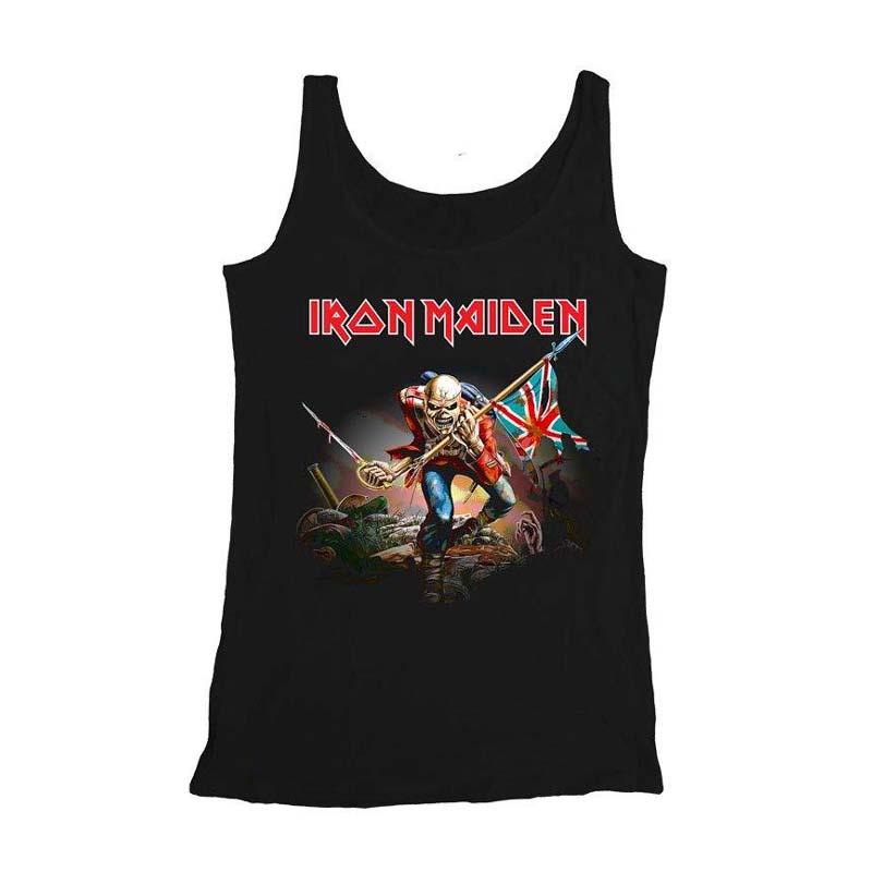 Maiden Iron Mens Trooper Top Vest Rockzone FrqwrBAdPx