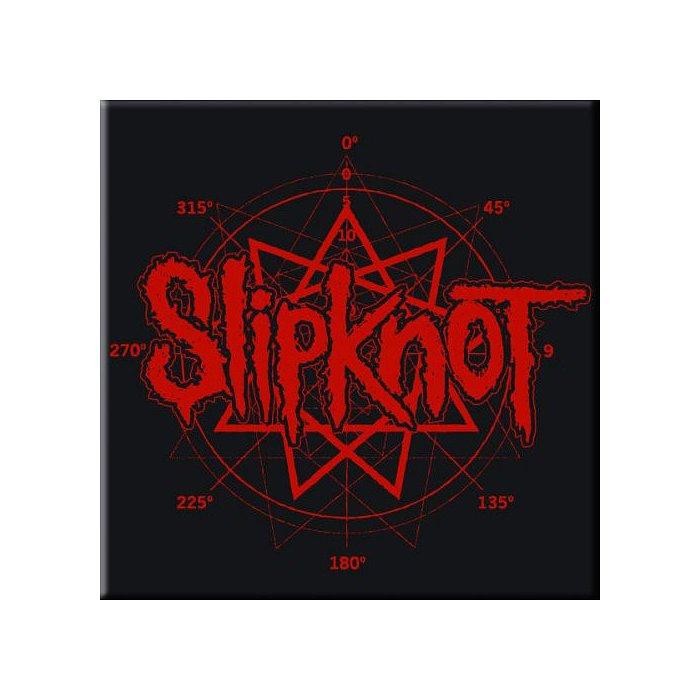 Slipknot Logo Pentagram Magnet - Rockzone d957db8867dd