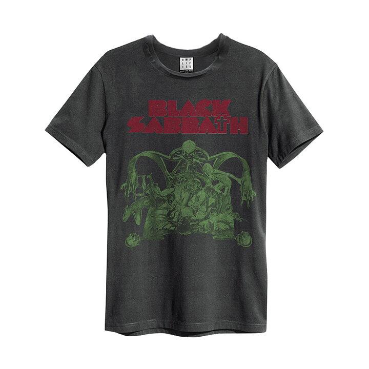 73f469ebe Black Sabbath Sabbath Bloody Sabbath Cutout Charcoal Amplified Vintage T- Shirt - Rockzone