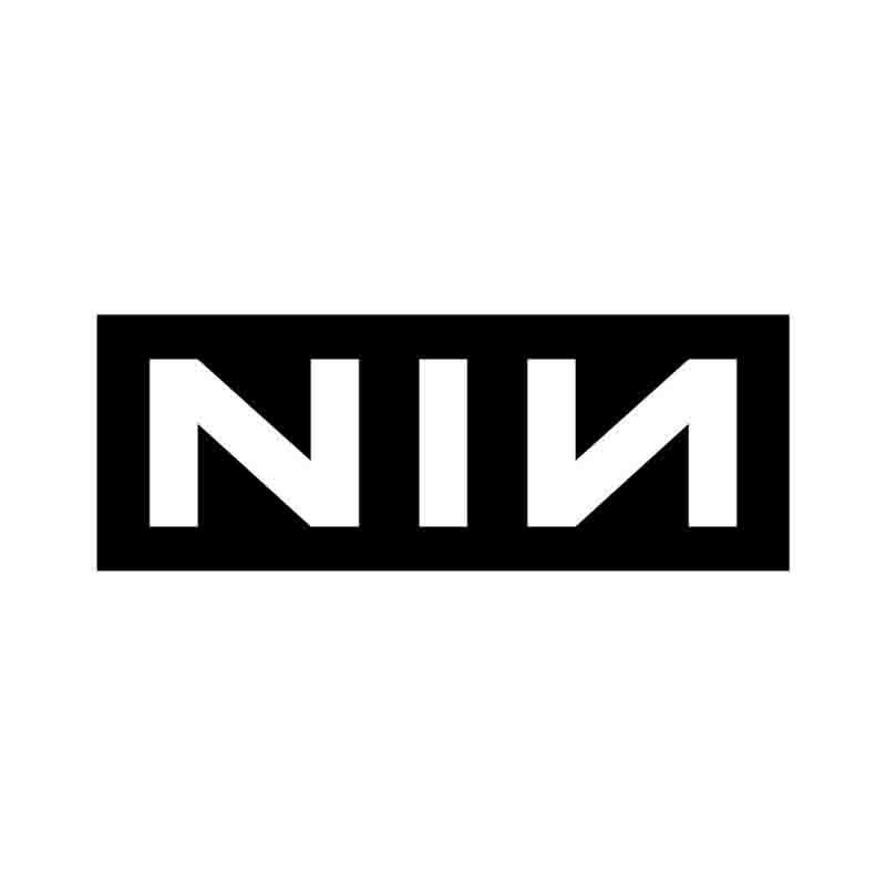 Nine Inch Nails Logo Sticker Rockzone