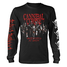 d5d3b7524 Cannibal Corpse Butchered At Birth Baby Long Sleeve