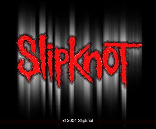 slipknot red shadow logo sticker rockzone