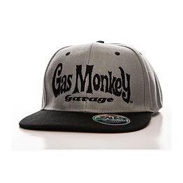 1c62b3615 Gas Monkey Garage Logo Grey Snapback Cap