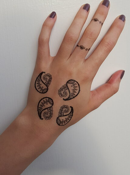 Fake Tattoos - Scandinavian temporary tattoos - Henna
