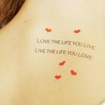 Fake Tattoos Scandinavian Temporary Tattoos Romantic