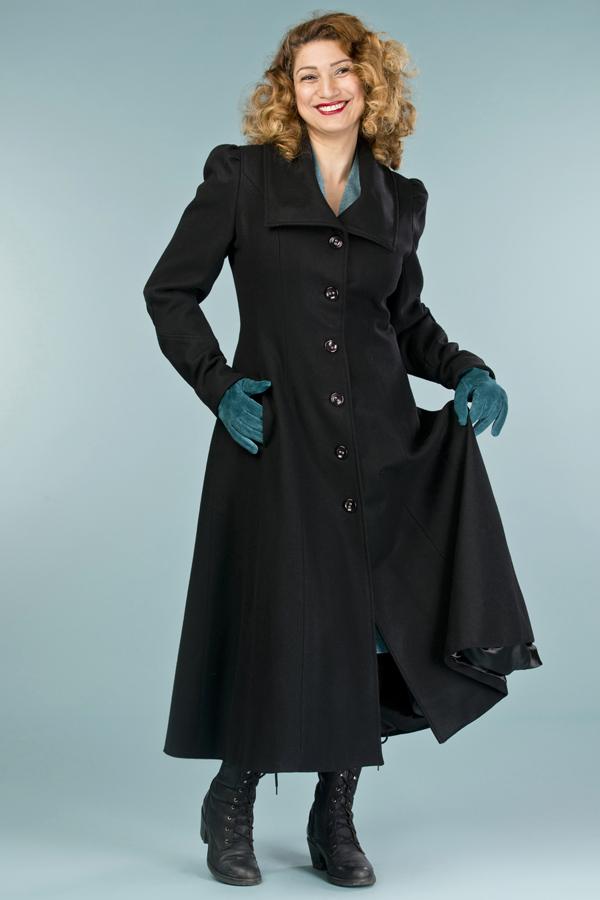 selected femme uld frakke