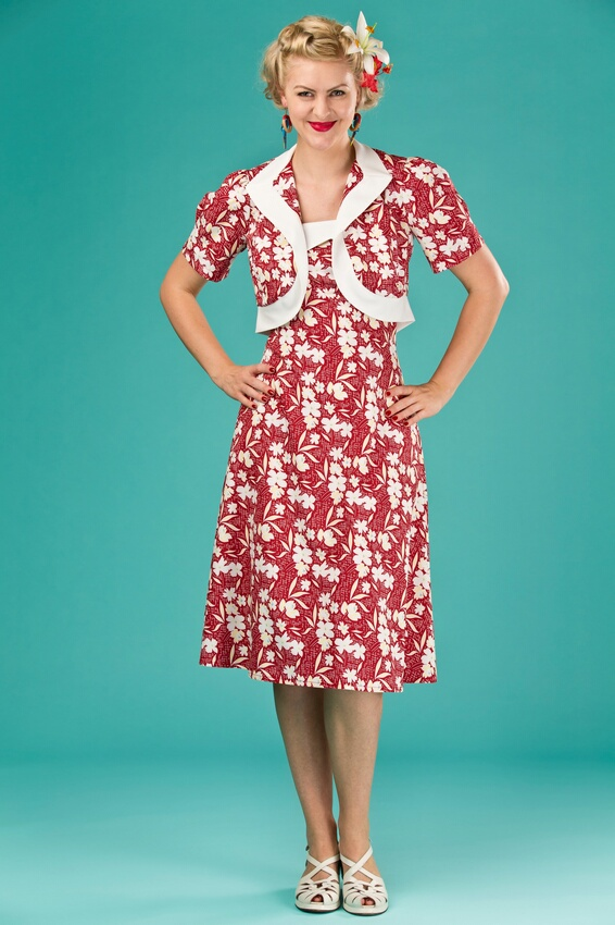 Red Bolero Dress