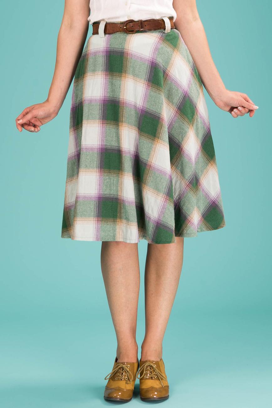 95d2fab79e Green Plaid Skirt – DACC